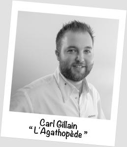 Carl Gillain polaroïd complet