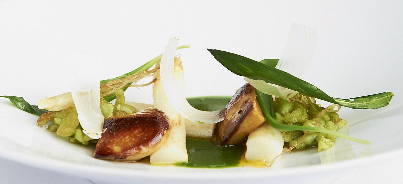 Asperges foie gras et ail des ours cuisine sauvage asbl for Ail sauvage cuisine